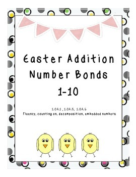 Easter Egg Addition Number Bonds