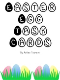 Easter Egg Addition and Subtraction Task Cards