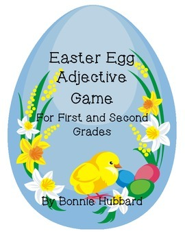 Easter Egg Adjective Game