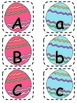 Alphabet Matching Cards ~ Easter Egg