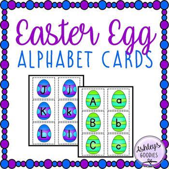 Easter Egg Alphabet Cards
