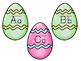 Easter Egg Hunt Alphabet Pocket Chart Game