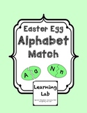 Easter Egg Alphabet Match