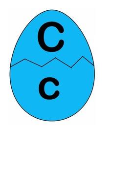 Easter Egg Alphabet Match (Upper and Lower)