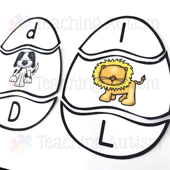 Easter Initial Letter Puzzles