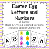 Easter Egg Alphabet & Number Cards