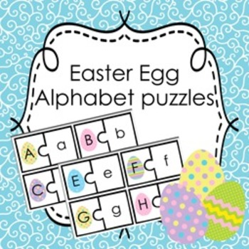 Easter Egg Alphabet Puzzles