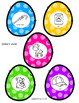 Easter Egg Articulation and Language Wreath