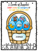Easter Egg Basket Categories