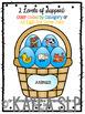 Easter Egg Basket Categories