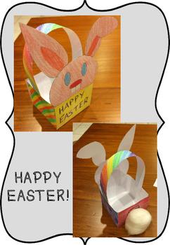 Easter Egg Basket Template