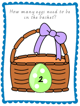 Easter Egg Basket play dough mats
