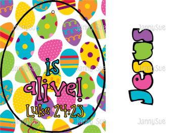 Easter Egg Bible Verse Craft Kit