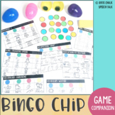 Easter Egg Bingo Chip No Prep Language Activities for Speech Therapy