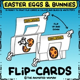 Easter Egg & Bunny FLIP-CARDS