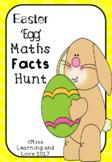 Easter Egg Bunny Themed Maths Facts True/False Hunt: Addit