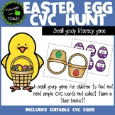 CVC Word Game - Easter Egg Hunt