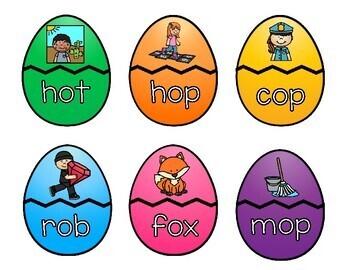 Easter Egg CVC Practice