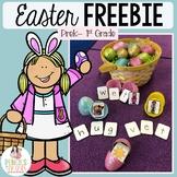 Easter Egg CVC Word Hunt Freebie