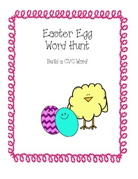 Easter Egg CVC Words