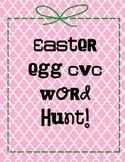 Easter Egg CVC words