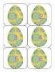 Easter Egg Calendar Numbers