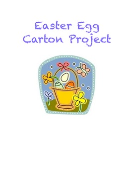 Easter Egg Carton Story Project