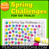 Spring Challenges for 100 Trials / Repetitions by Peachie
