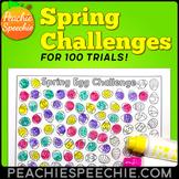 100 Trials Articulation Spring Challenges
