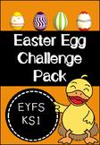 Easter Egg Challenge Activity Pack