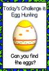Easter Egg Challenge Activity Pack