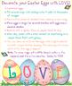 Easter Egg Clip Art Alphabet Download
