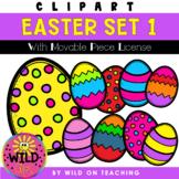 Easter Egg Clip Art | Set 1