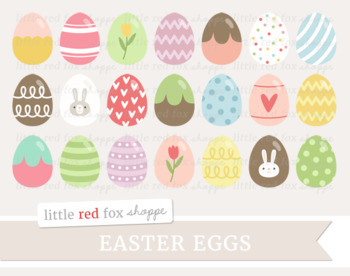 easter egg clipart candy easter basket egg hunt by little red fox