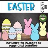 Easter Egg Clipart Clips Bunny Clip Art Peep Clip Art Spri