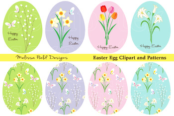 Easter Egg Clipart and Patterns