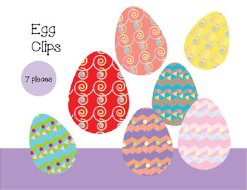 Easter Egg Clips
