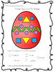 Easter Egg Color By 2D Shape