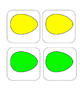 Easter - Egg - Color Egg - Matching and Memory Game - 11 pairs!
