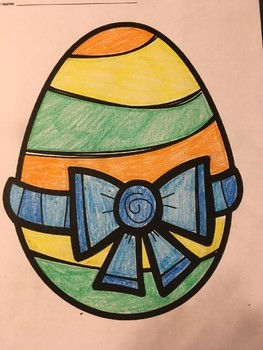 Easter Egg Color by Answer Quadratic Equations BUNDLE