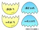 Easter Egg Contractions Match (2o sets)