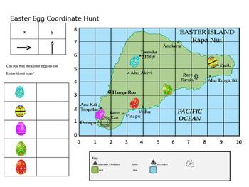 Easter Egg Coordinate Hunt