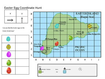 Easter Egg Coordinate Hunt