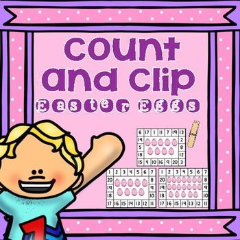 Summer Count and Clip Freebie