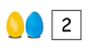 Easter Egg Counting (0-10)