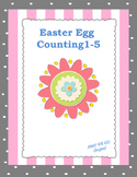 Easter Egg Counting 1-5