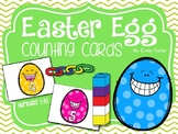 DOLLAR DEAL!!  Easter Egg Counting Cards