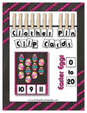 Easter Egg Counting Clip Cards Math Center ~ They Sparkle