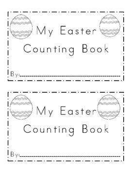 Easter Egg Counting Emergent Reader