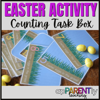 Easter Egg Counting Game- Instant Center Activity